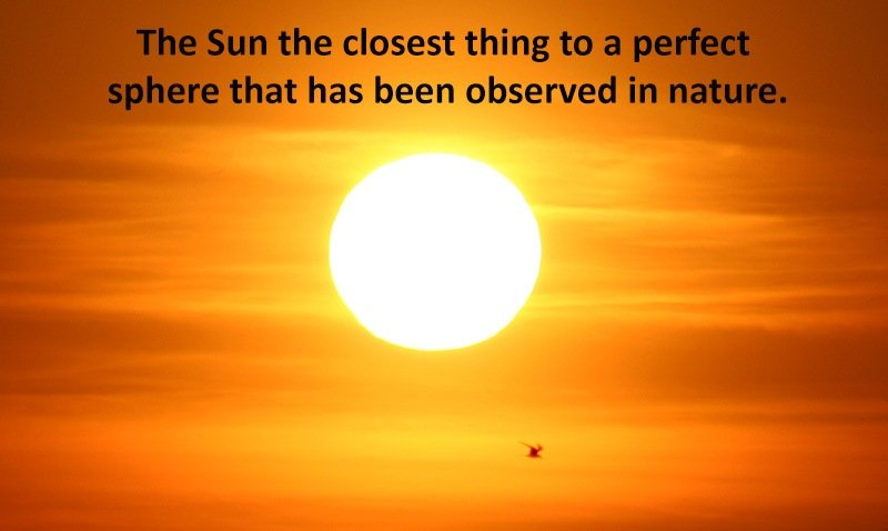 Sun Facts Perfect Sphere