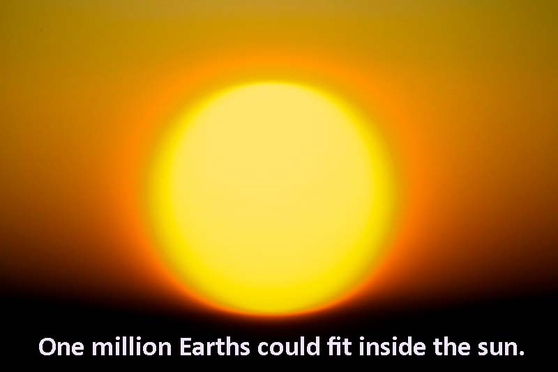 Sun's Incredible Size