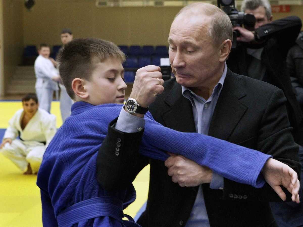 Vladimir Putin Satire Kid