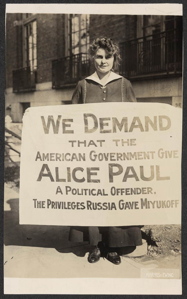 Suffrage Movement Leaders Alice Paul