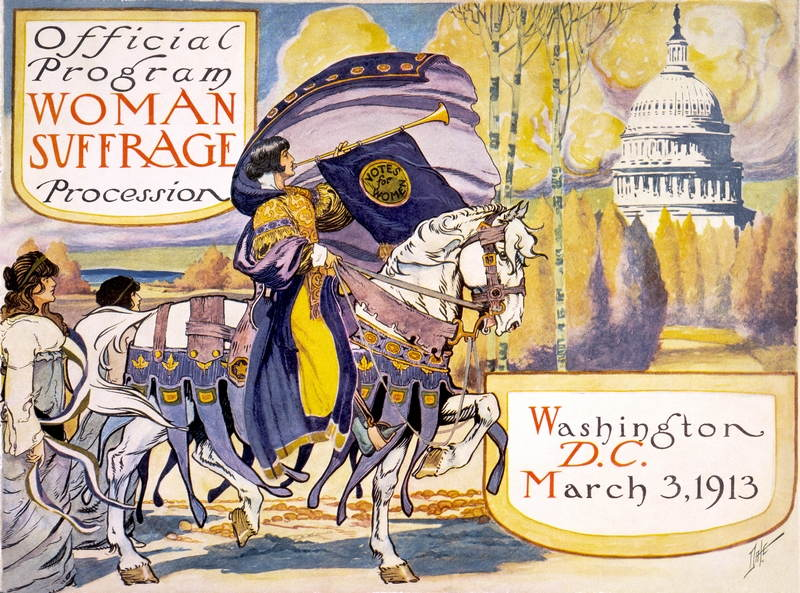 Suffrage Movement Parade