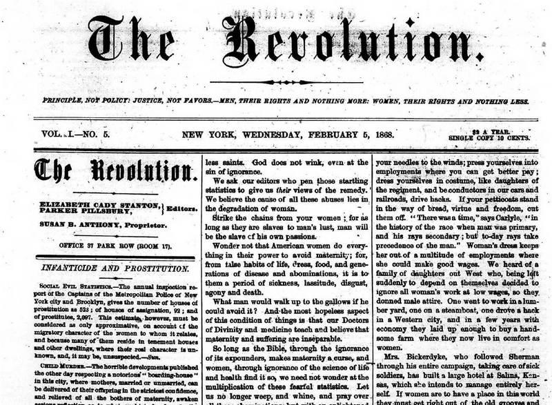 Suffrage Movement Revolution