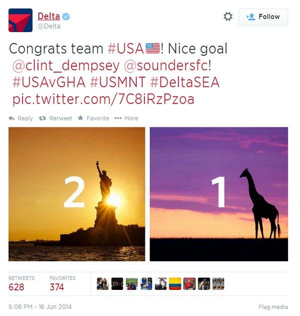 Delta's World Cup Controversy