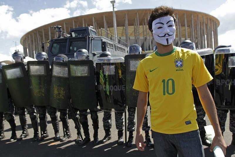 Demonstrations Against World Cup 2014