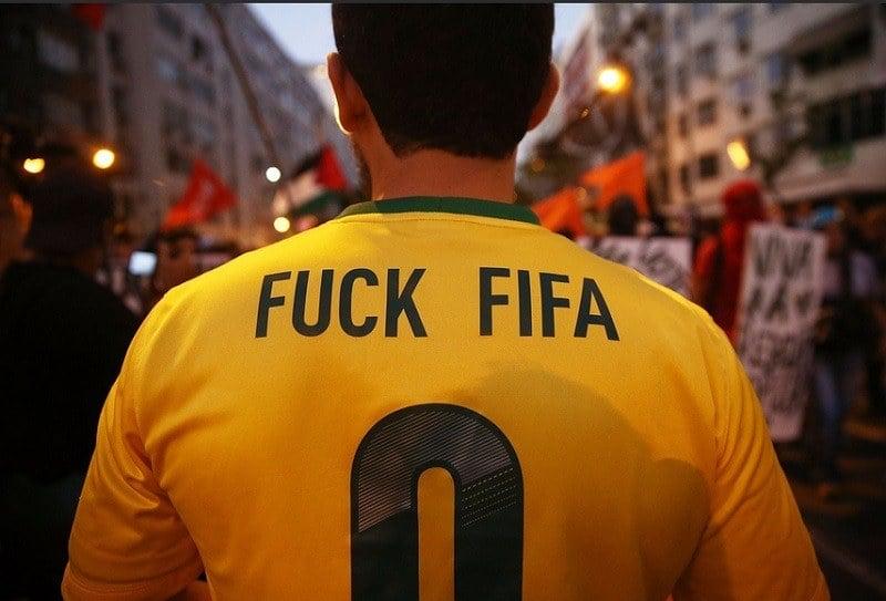 Fuck FIFA Football Jersey