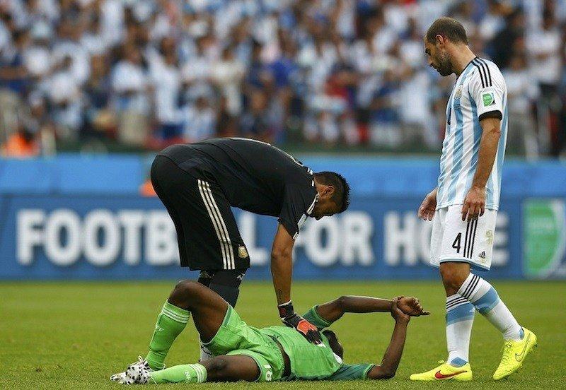 Michael Babatunde Injured