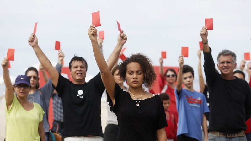 Red Card Demonstrations