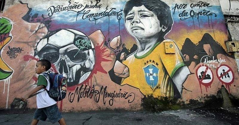 Dark Side of World Cup Public Art