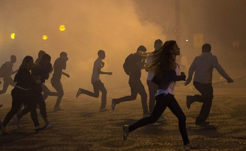 Tear Gas World Cup Protests