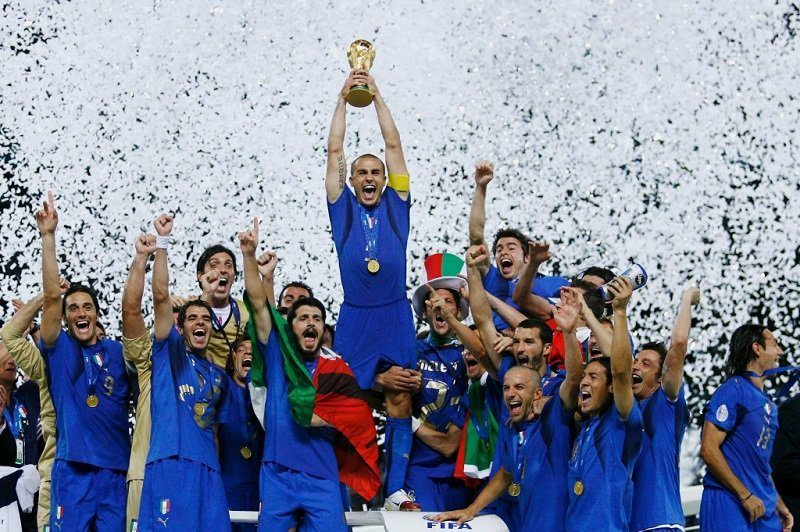 Italy vs. France 2006 World Cup