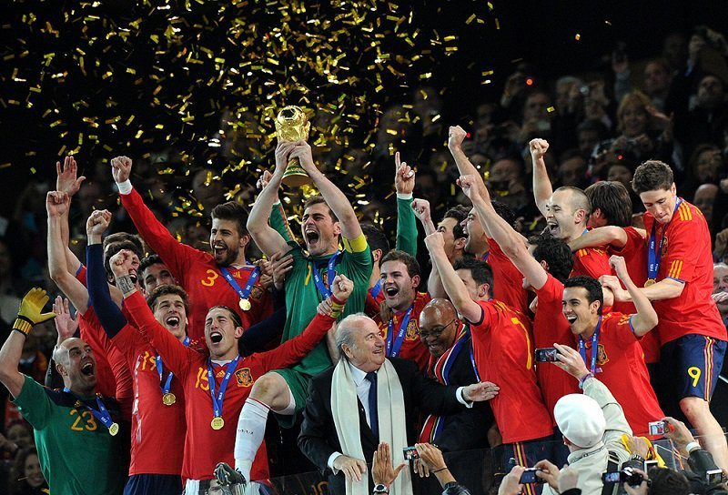World Cup Moments Spain