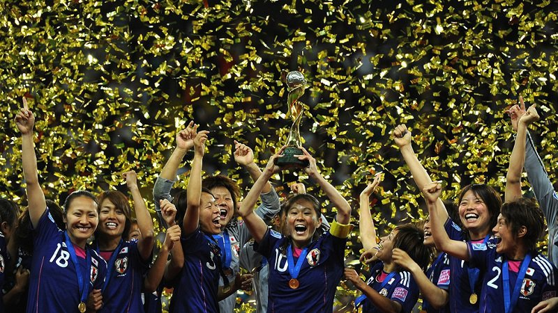 World Cup Moments Japan Wins 2011