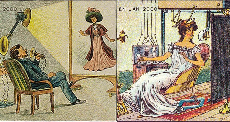 Here's What 19th Century French Artists Thought The Year 2000 Would Look Like