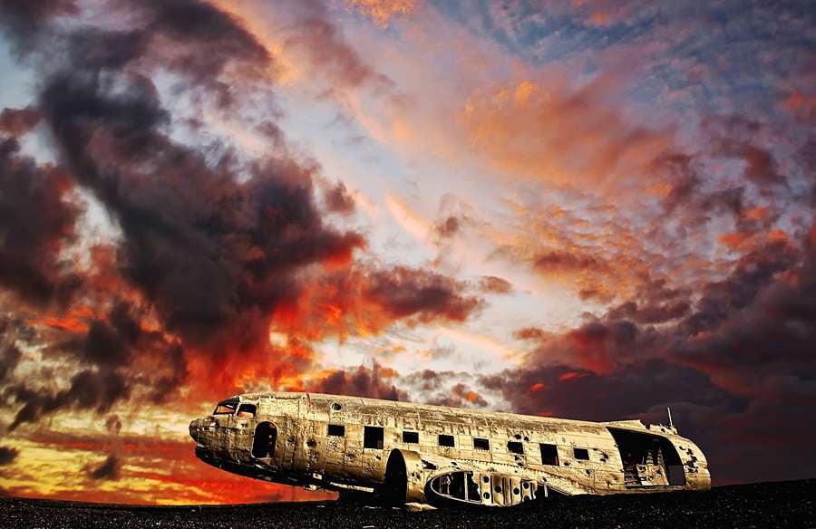 Abandoned Iceland DC3