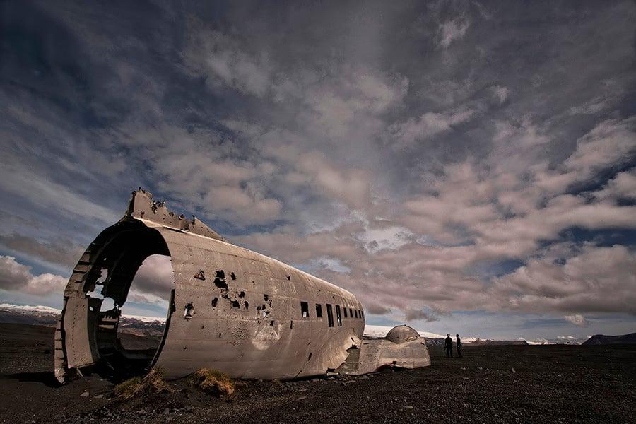 Abandoned Iceland DC3 Shell