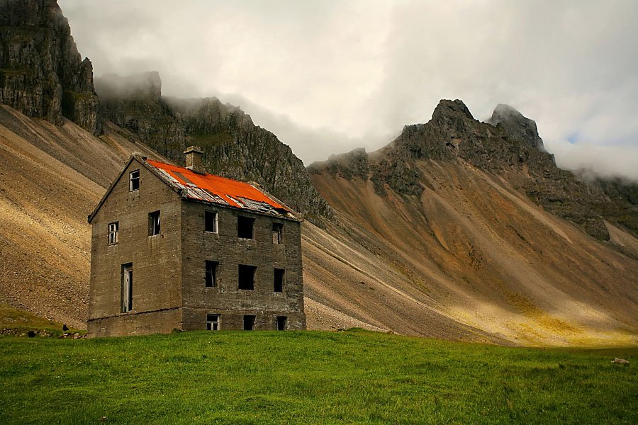 Abandoned Iceland Mountain Home