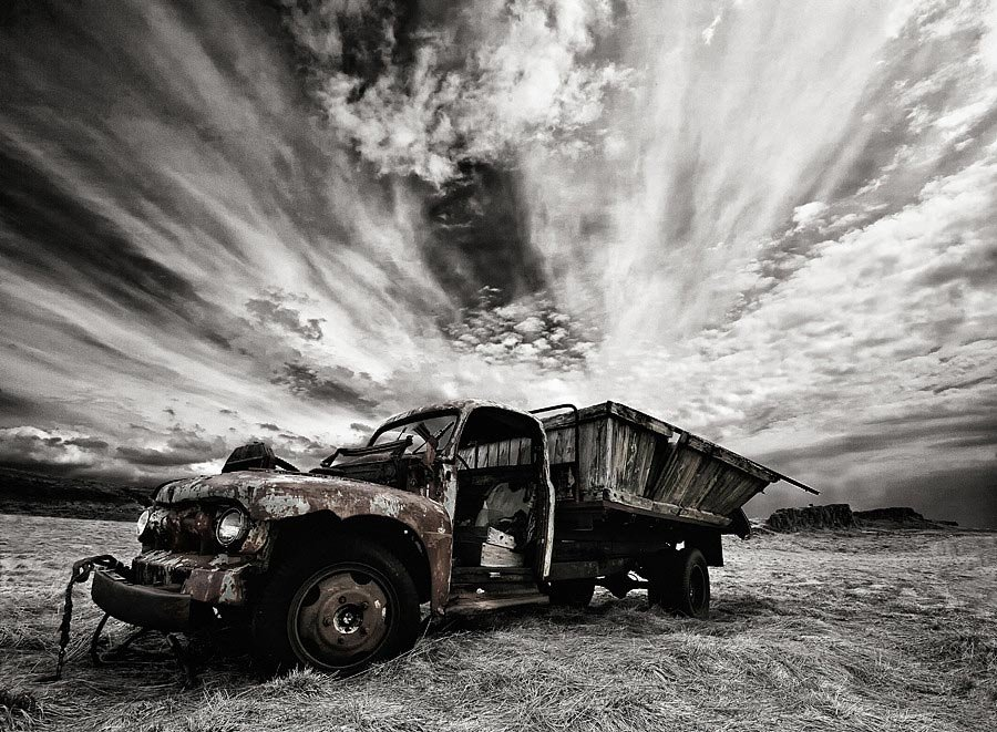 Abandoned Iceland Rusting Truck