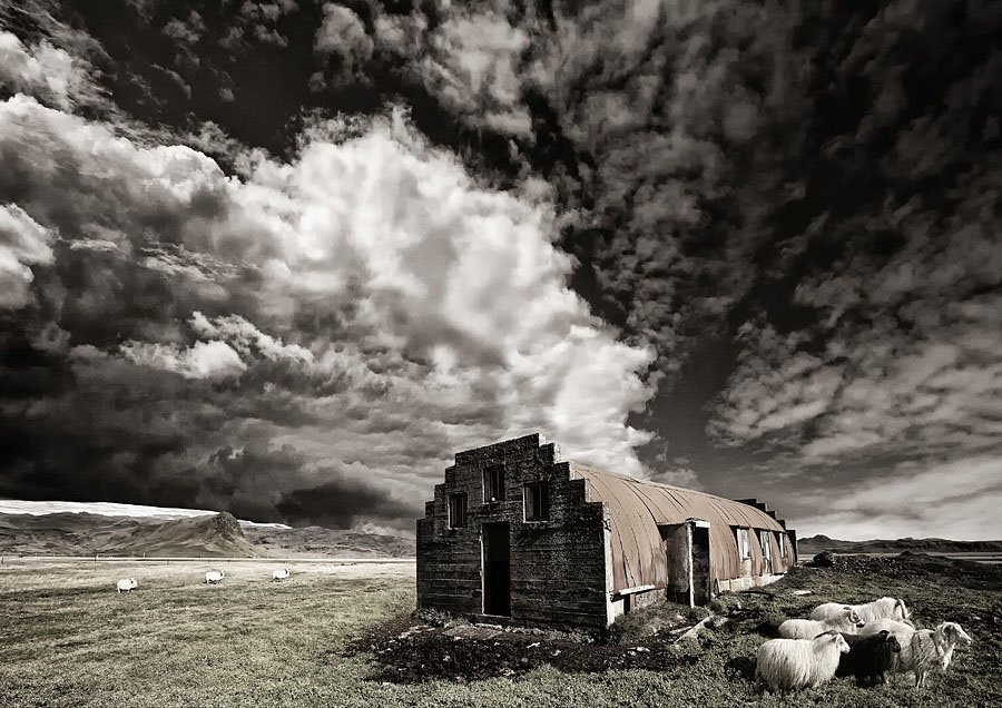 Abandoned Iceland Sheep Shelter