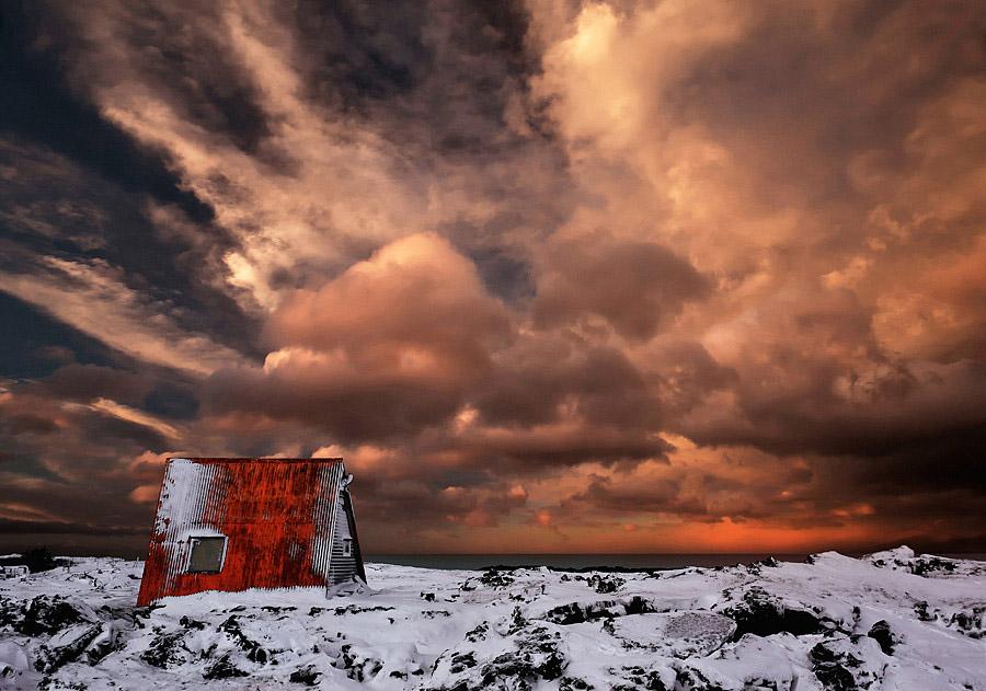 Abandoned Iceland A Frame