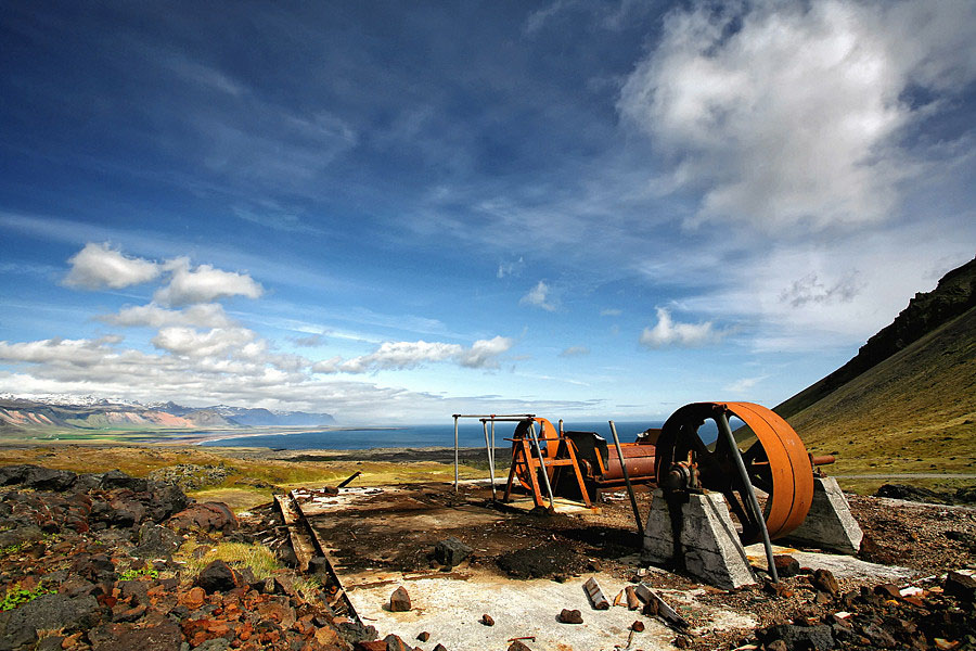 Abandoned Iceland Steel Wheels