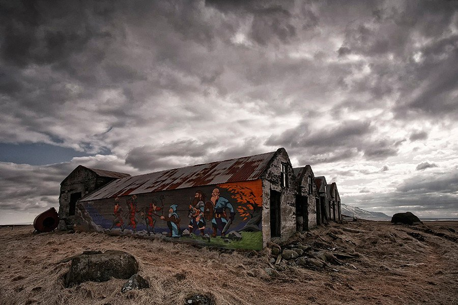 Abandoned Iceland Viking Barn