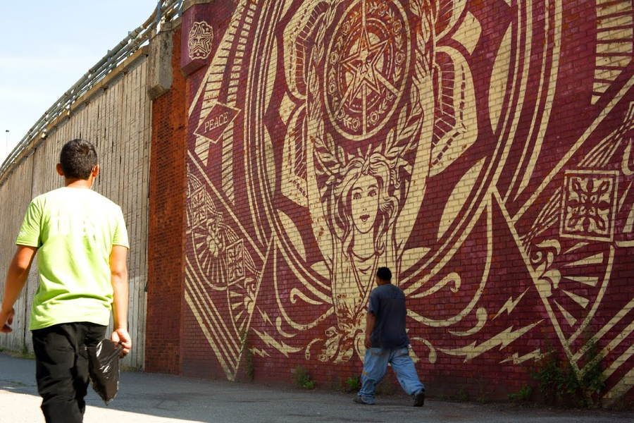 Brooklyn Street Art Shepard Fairey