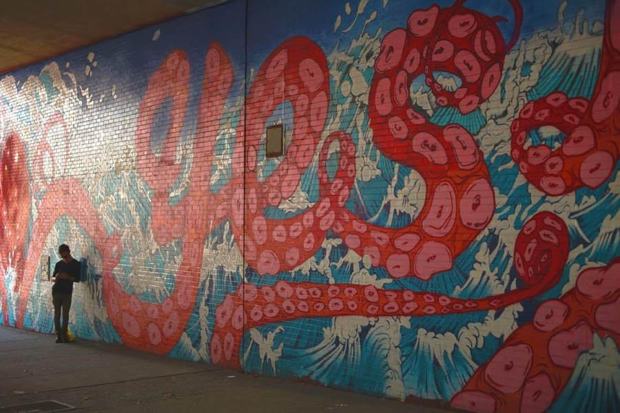 Brooklyn Street Art Yiko Shimizu
