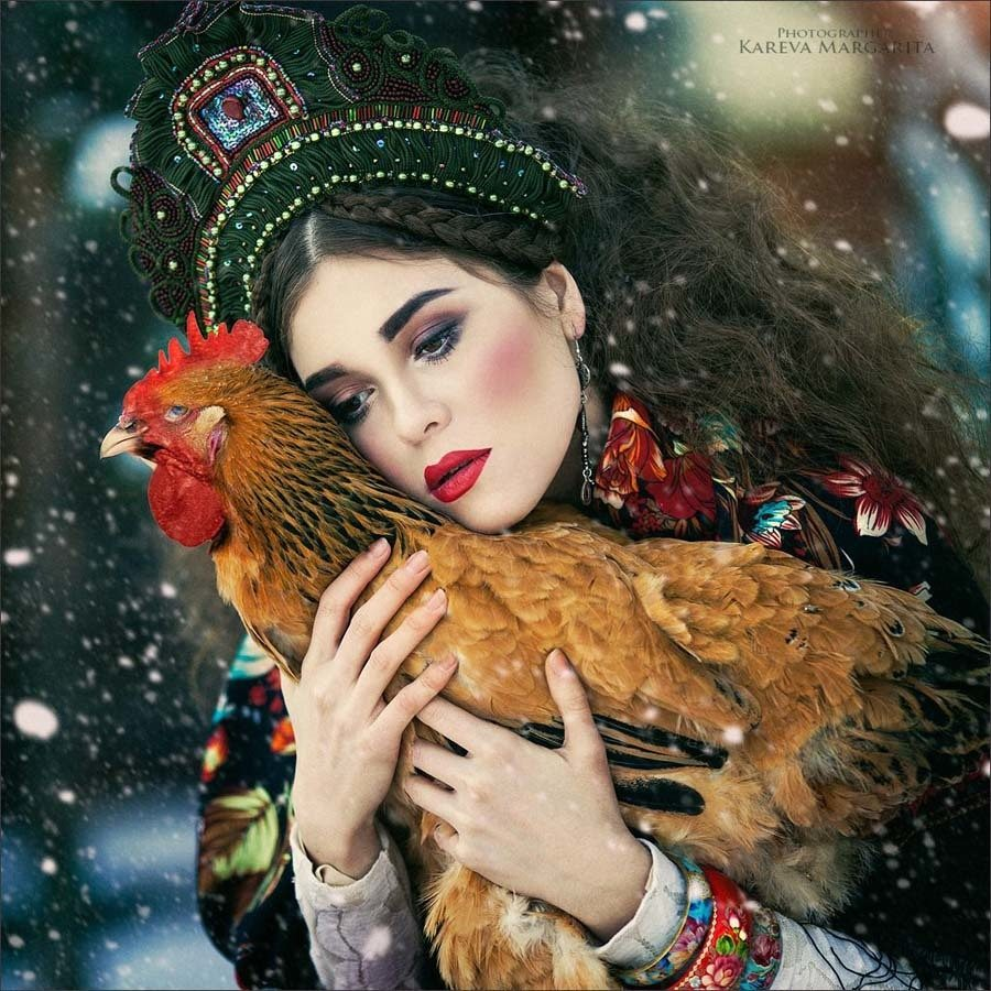 Rooster Princess