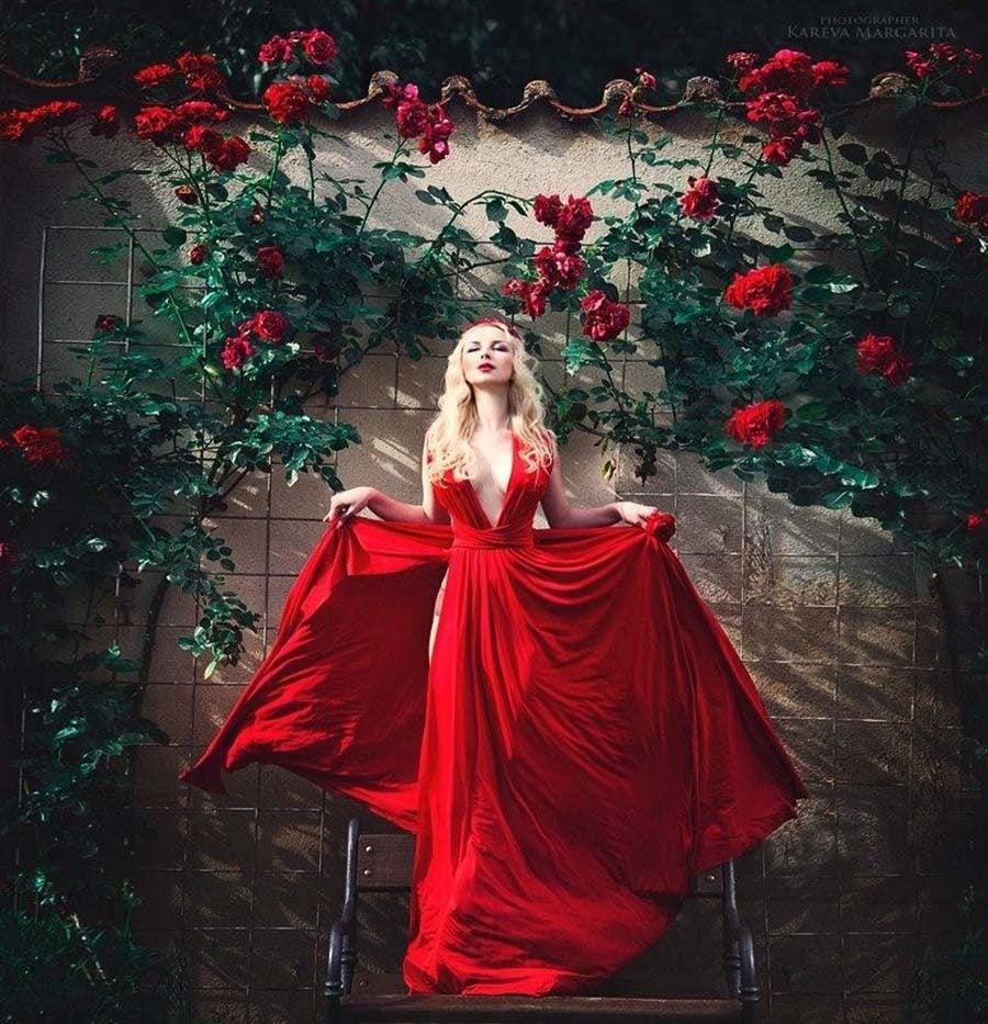 Margarita Kareva Red Roses