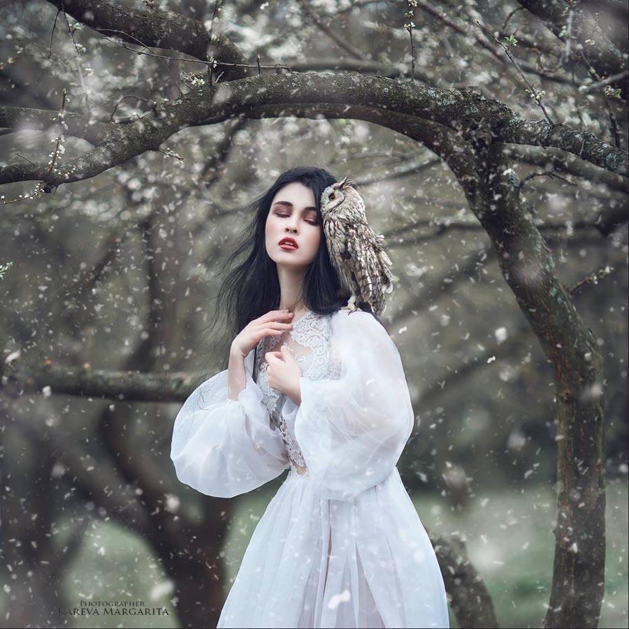 Margarita Kareva Snow Owl Photo