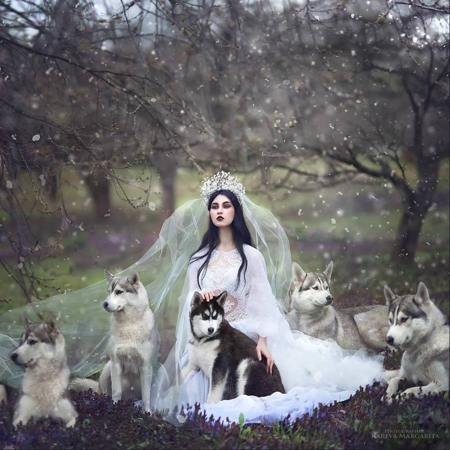 Margarita Kareva Wolf mother