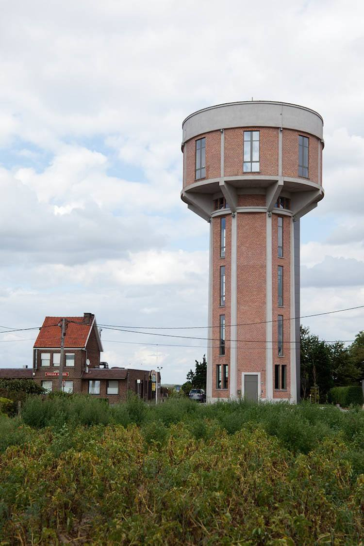 Water Tower Home Outside