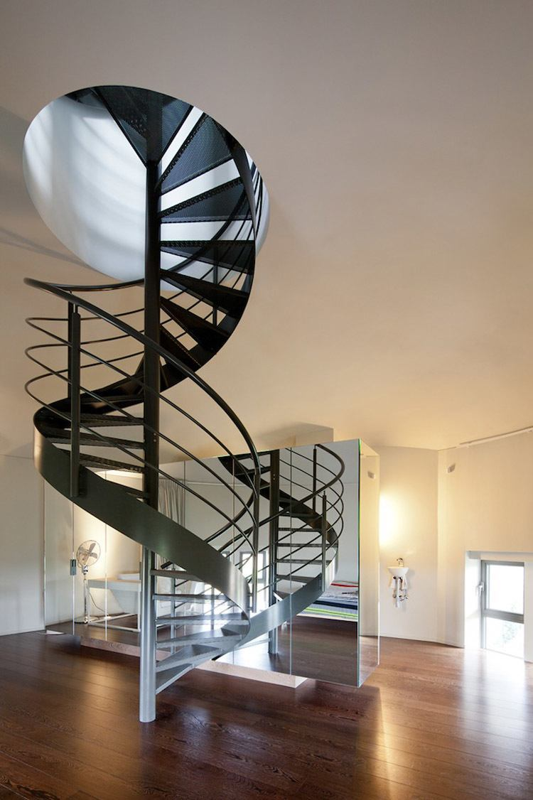 Water Tower Home Stairs