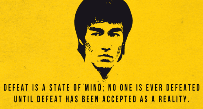 Eccezionale 40 Bruce Lee Quotes That Will Change Your Life AJ42