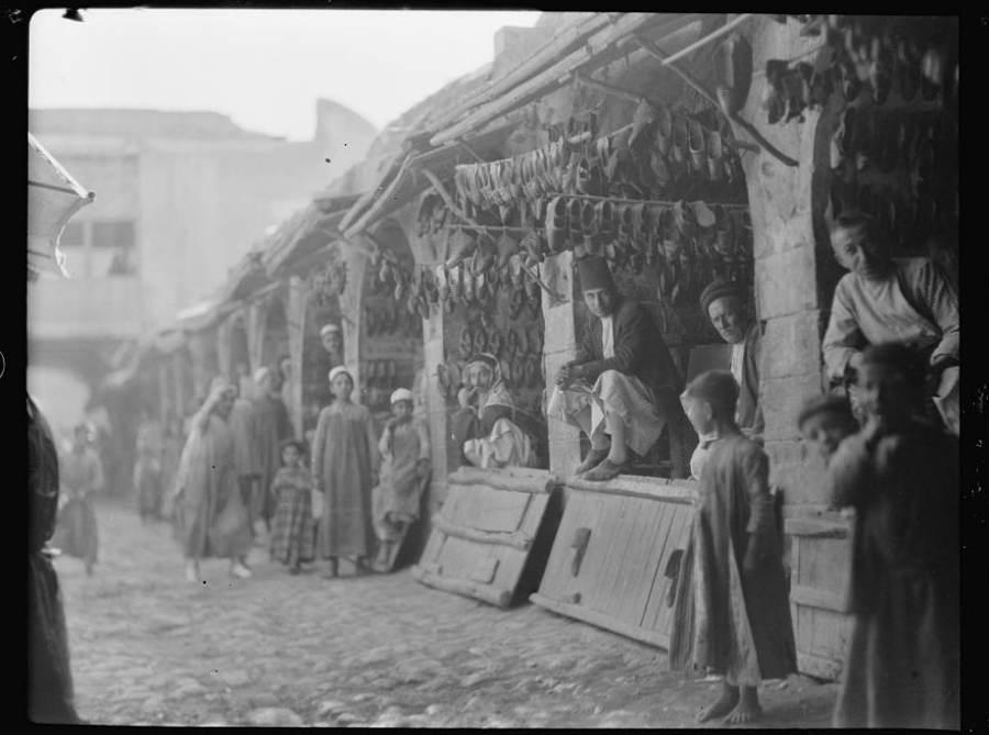 Baghdad Shoe Sellers Market