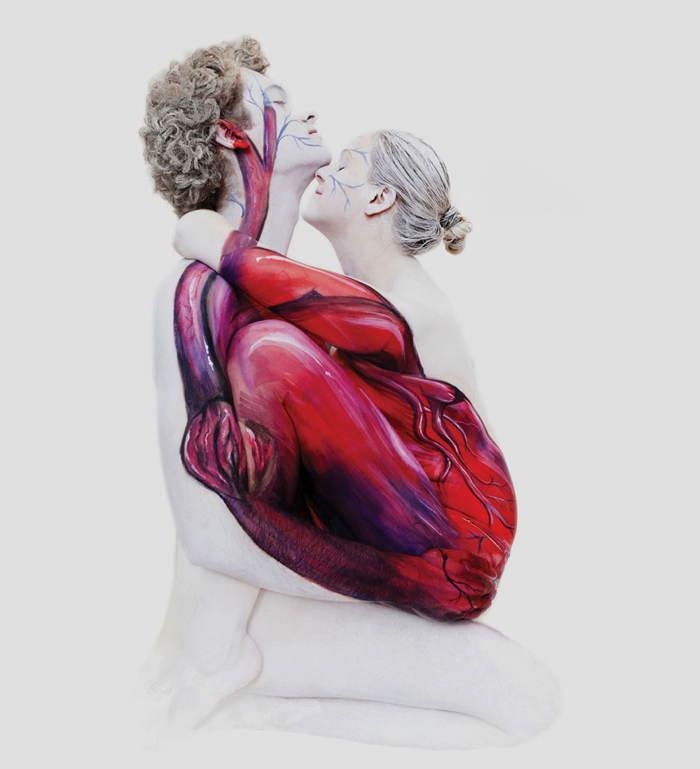 Body Art Heart