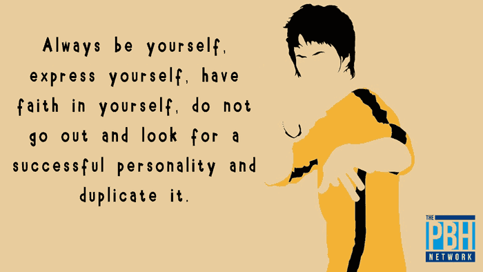 Bruce Lee On Having Faith In Yourself