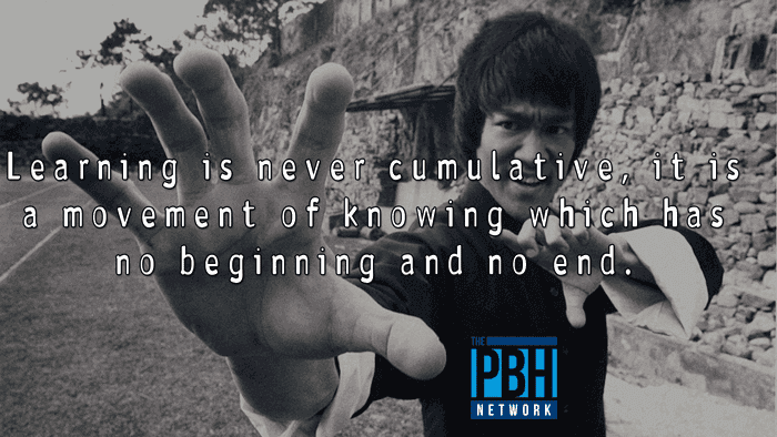 Bruce Lee Quotes On Learning