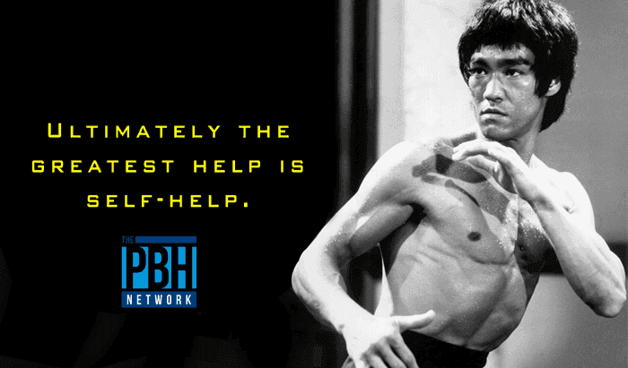 Bruce Lee Quotes On Self Help