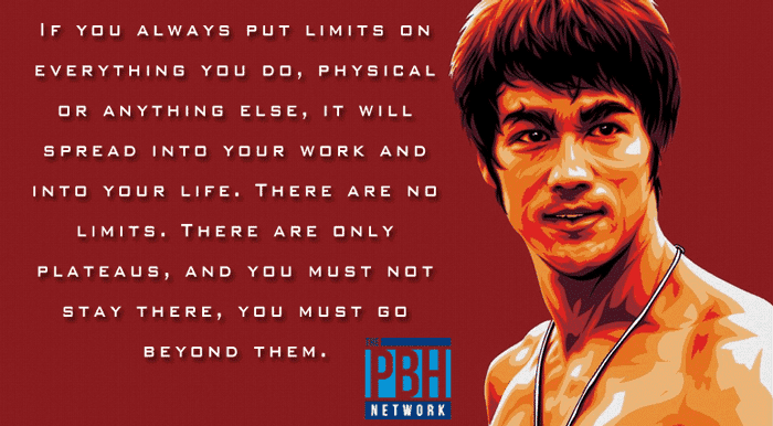 Bruce Lee Quotes On Setting Limits