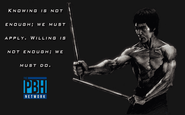 Bruce Lee Quotes Willing And Doing