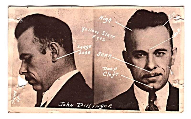 Dillingers penis von fbi erhalten