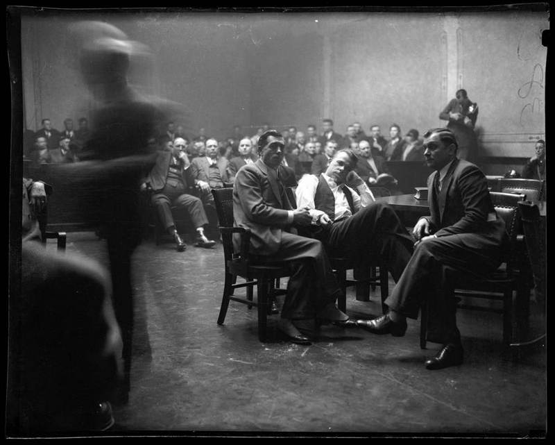 John Dillinger In Court