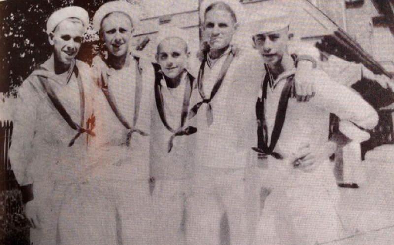 John Dillinger In The Navy