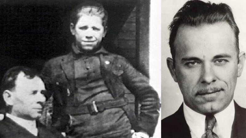 John Dillinger's Smirk