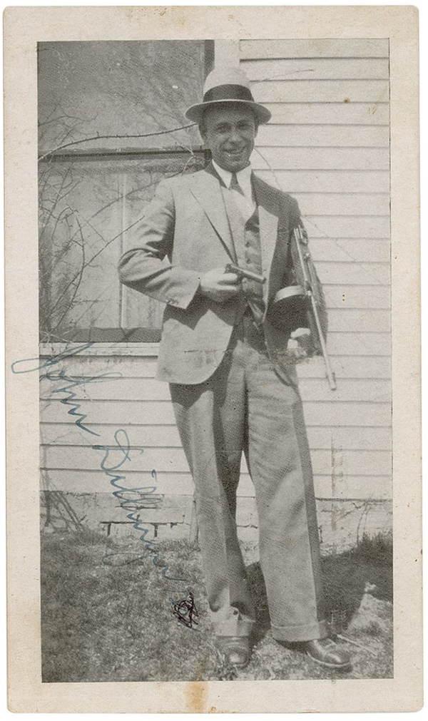 John Dillinger Tommy Gun