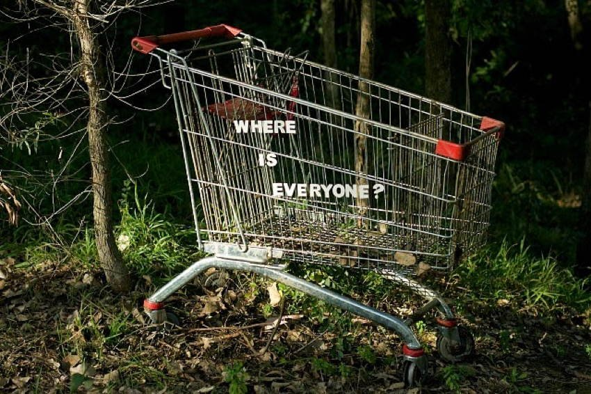 Discarded Objects Cart