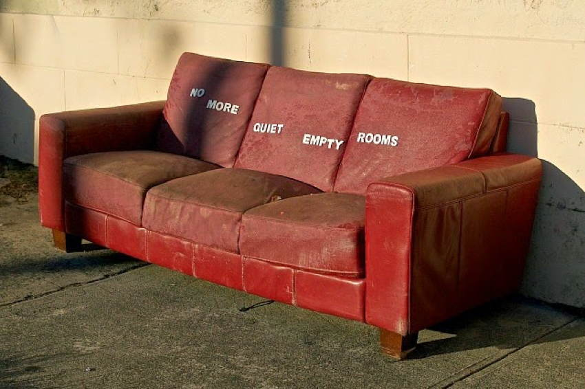 Discarded Objects Couch