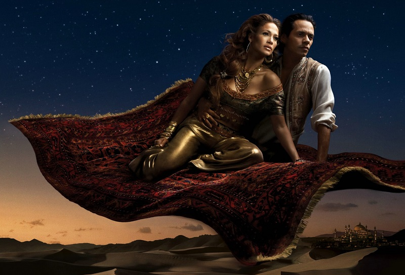 Annie Leibovitz Jasmine and Aladdin
