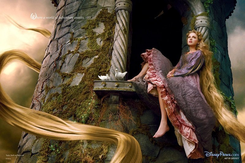 Rapunzel Disney Princess Interpretations